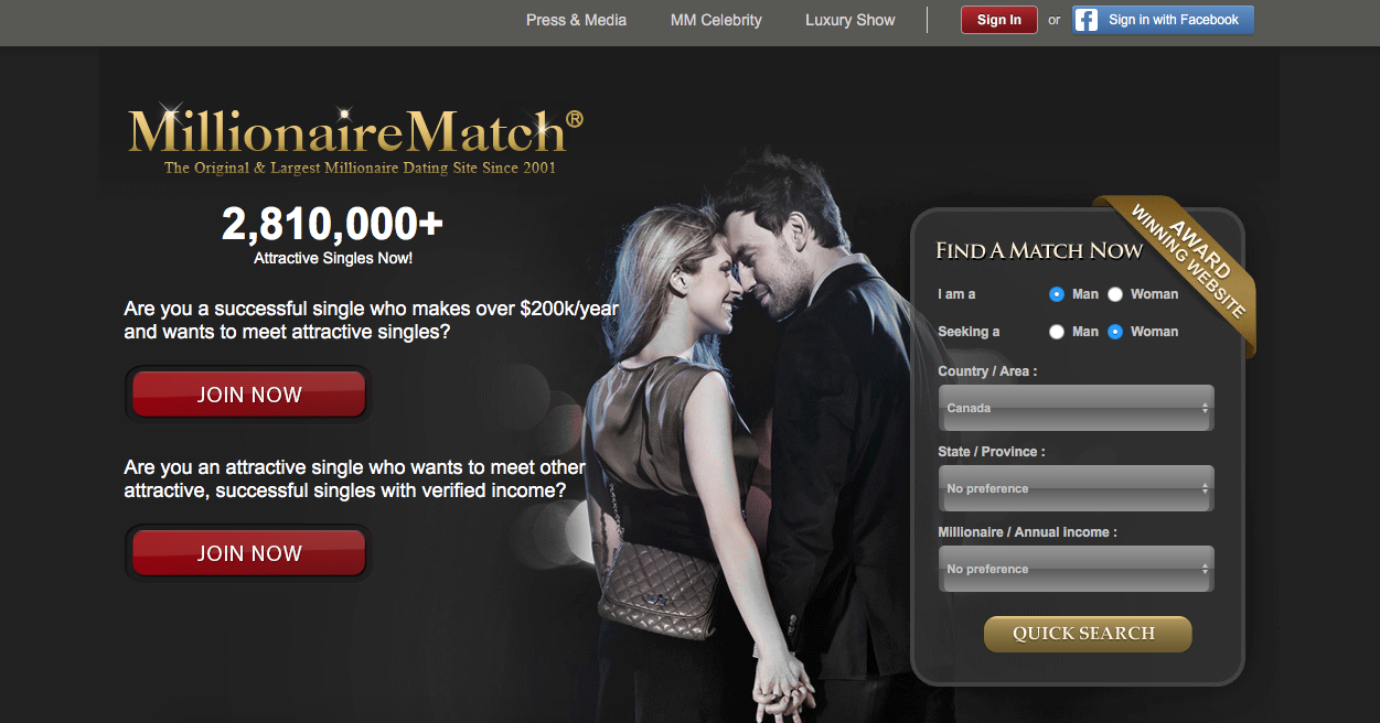 MillionaireMatch.com Review: Is Sugar Daddy Dating For Me?